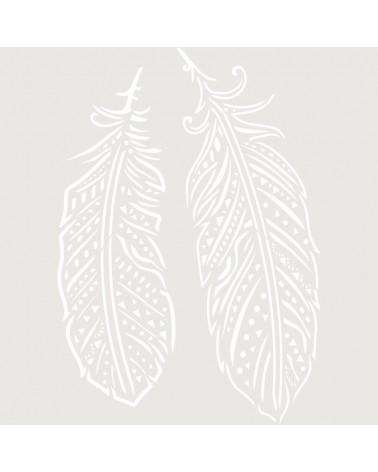 Stencil Figura 059 Plumas