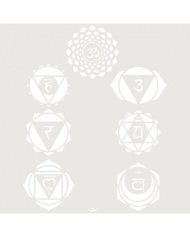 Stencil Figura 061 Chakras