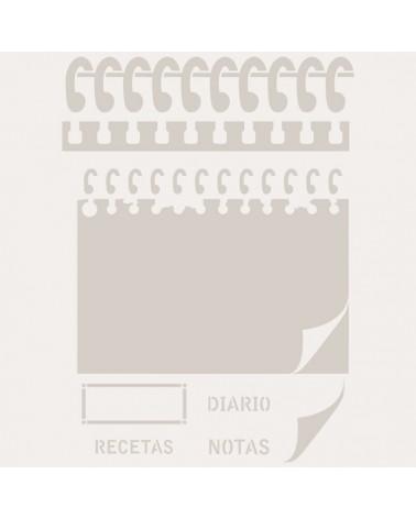 Stencil Figura 062 Libreta