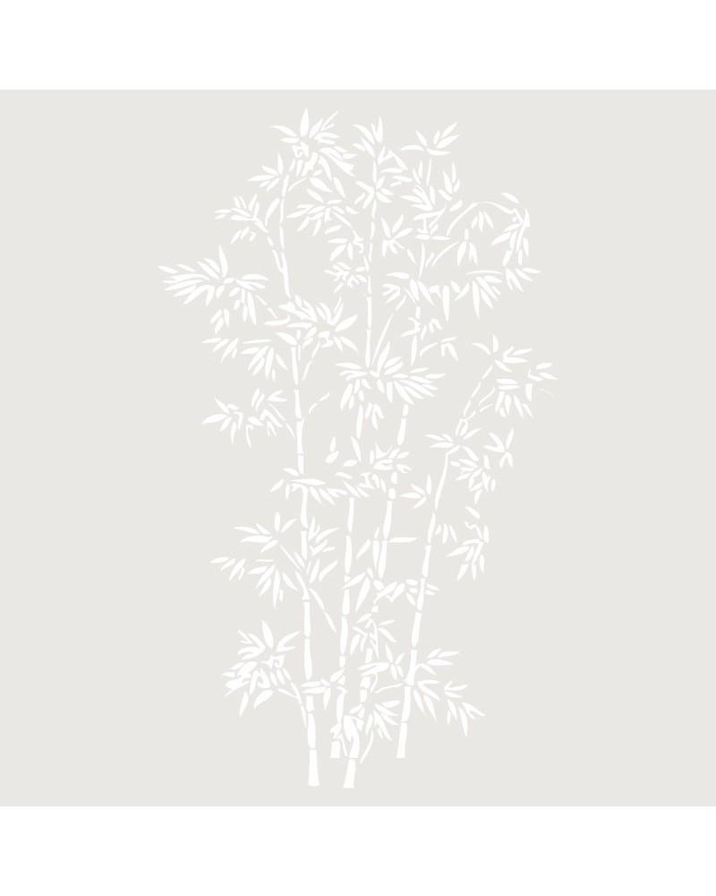 Stencil Floral 016 Ramo Hojas