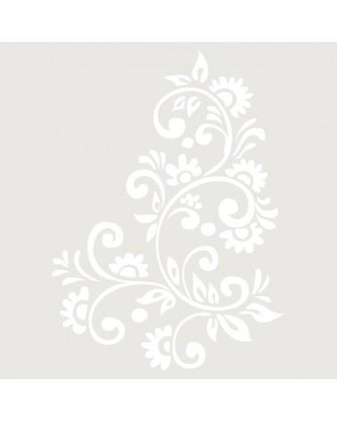 Stencil Floral 019 Ramo Filigranas