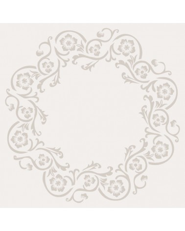 Stencil Floral 020 Rueda Floral