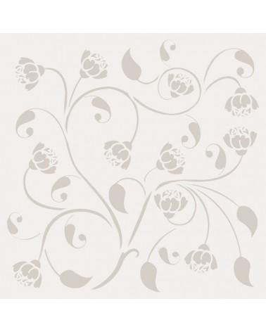 Stencil Floral 022 Composicion Floral