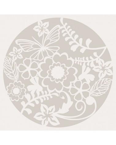 Stencil Floral 023 Rueda Floral