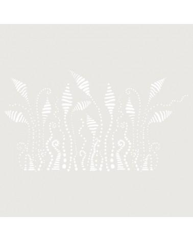 Stencil Floral 026 Plantas