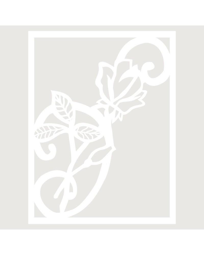 Stencil Floral 028 Composicion Floral