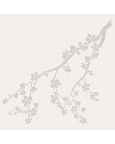Stencil Floral 031 Rama Almendro