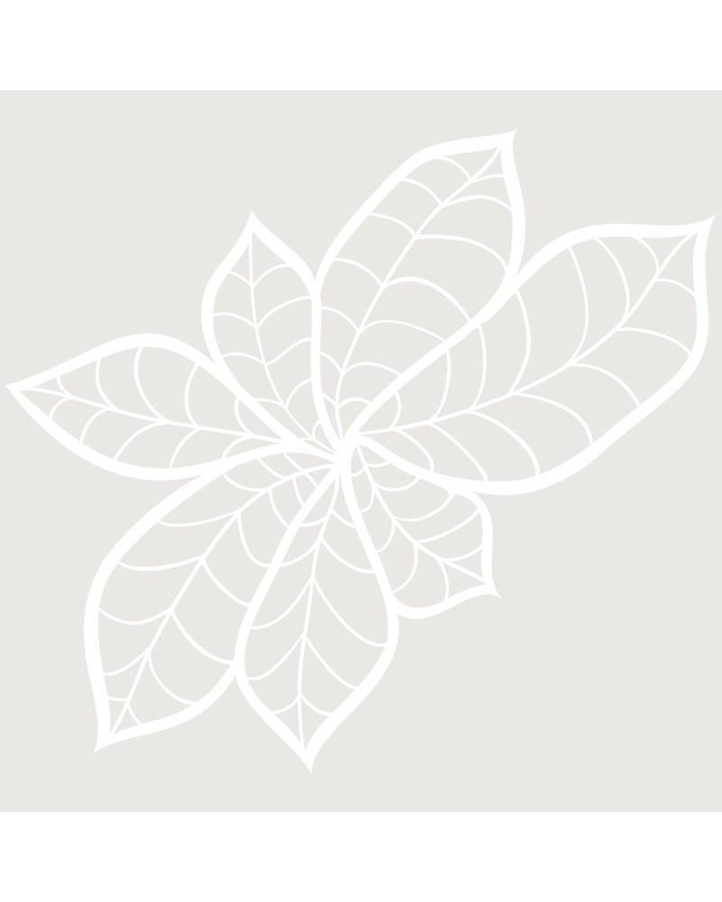 Stencil Floral 042 Hojas
