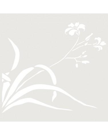 Stencil Floral 043 Flor Campanillas