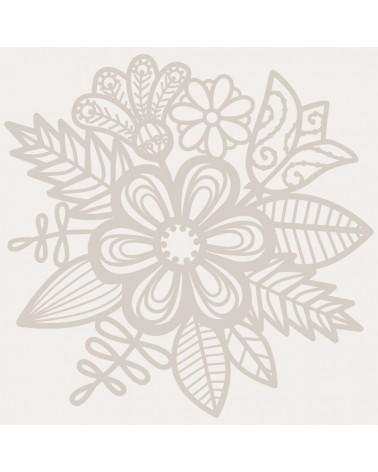 Stencil Floral 046 Mascara Floral