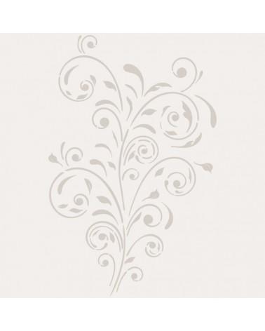 Stencil Floral 047 Flor Arabesco