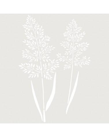 Stencil Floral 051 Hojas