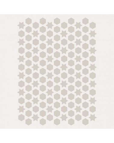 Stencil Fondo 002 Celosia Arabe