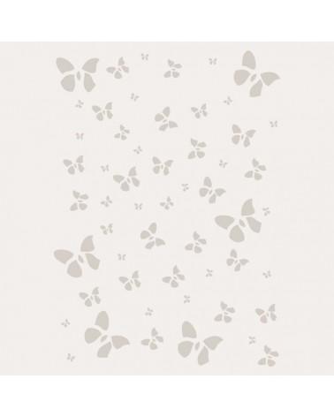 Stencil Fondo 007 Mariposas