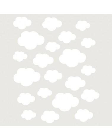 Stencil Fondo 016 Nubes