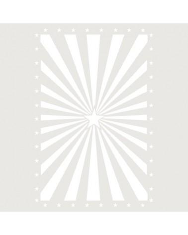 Stencil Fondo 022 Estrella Explosion