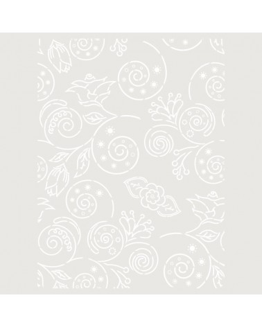 Stencil Fondo 024 Floral Contornos