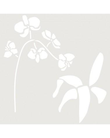 Stencil Multicapa 001 Orquidea