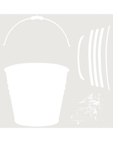 Stencil Multicapa 009 Cubo zinc