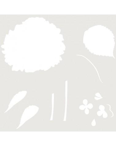 Stencil Multicapa 012 Hortensia