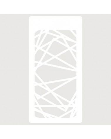 Stencil Scrapbooking 001 Abstracto Lineas