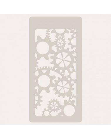 Stencil Scrapbooking 003 Engranaje