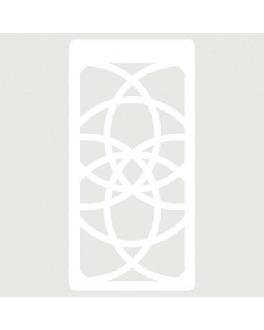 Stencil Scrapbooking 006 Mandala