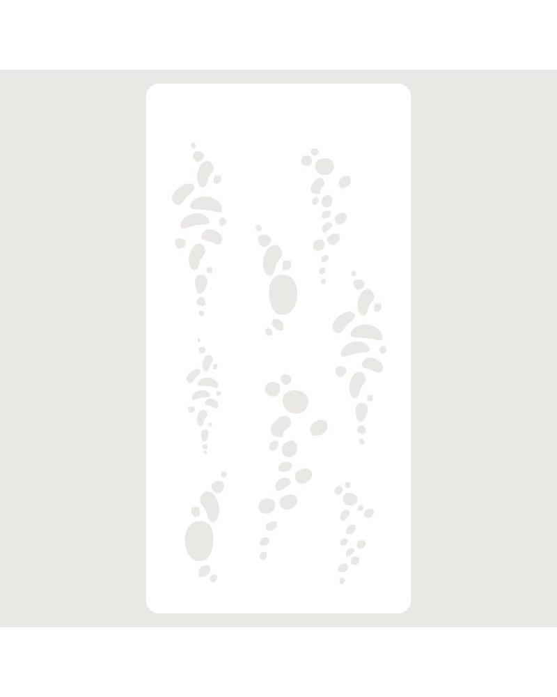Stencil Scrapbooking 020 Burbujas