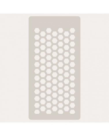 Stencil Scrapbooking 022 Hexagonos