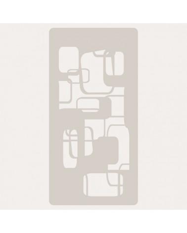Stencil Scrapbooking 023 Rectangulos