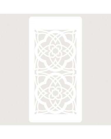 Stencil Scrapbooking 032 Celosia