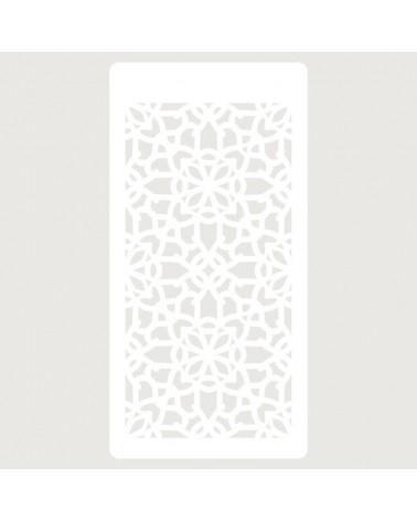 Stencil Scrapbooking 064 Celosia