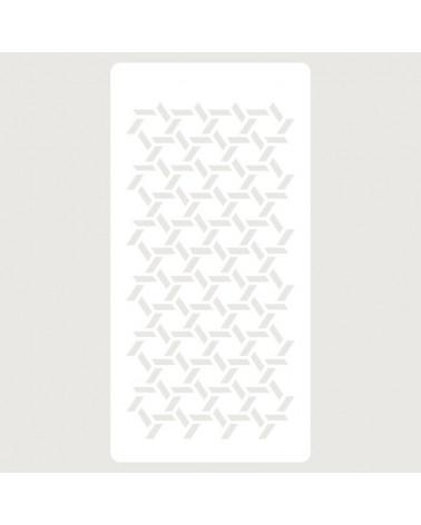 Stencil Scrapbooking 065 Geometrico