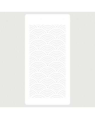 Stencil Scrapbooking 067 Lineas curvas