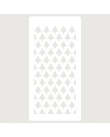 Stencil Scrapbooking 070 Puntas Flechas