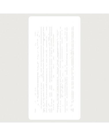 Stencil Scrapbooking 075 Textura lineas verticales