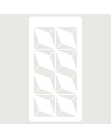 Stencil Scrapbooking 078 Geometrico