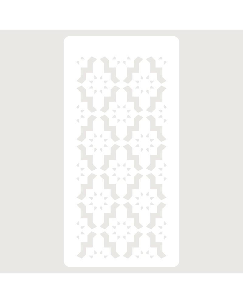 Stencil Scrapbooking 079 Celosia