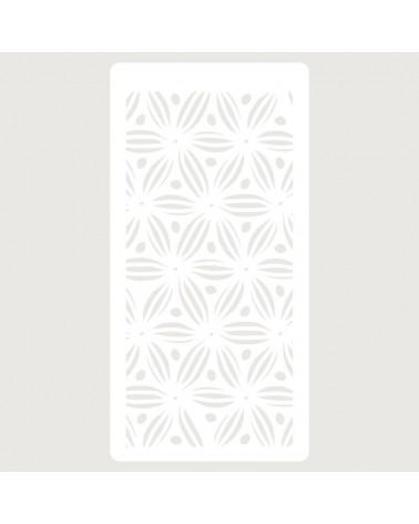 Stencil Scrapbooking 080 Flores