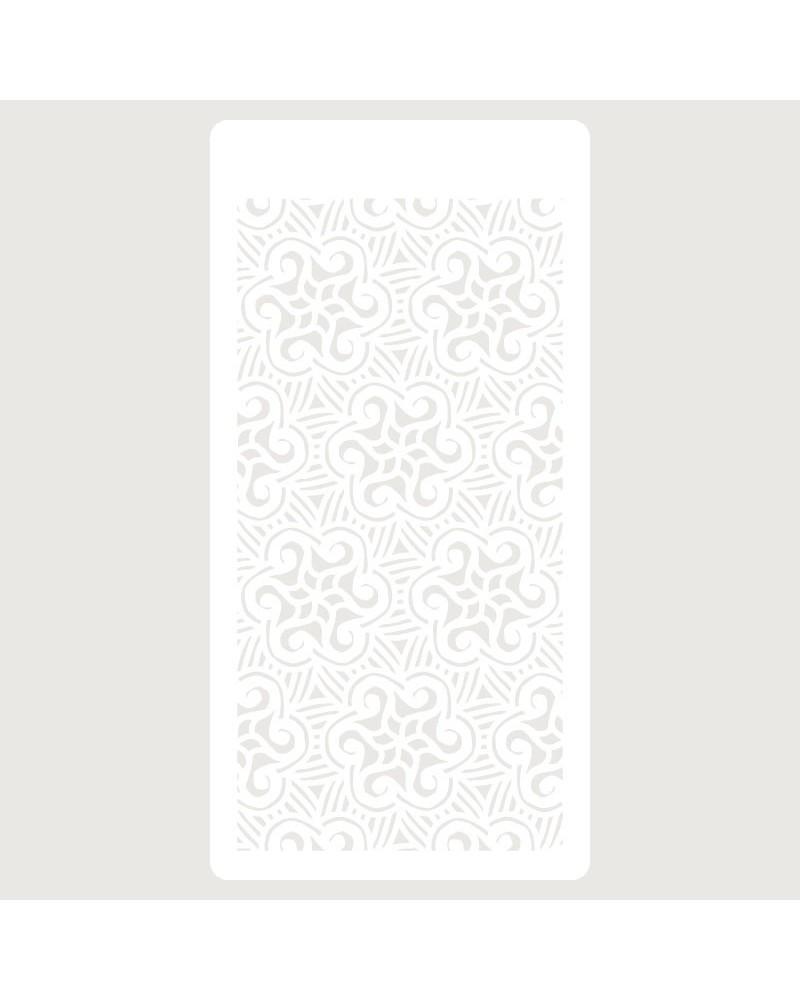 Stencil Scrapbooking 081 Flor Estrella