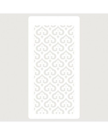 Stencil Scrapbooking 083 Flor de Lys