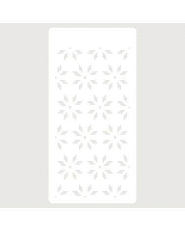 Stencil Scrapbooking 087 Flores