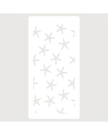 Stencil Scrapbooking 091 Estrellas de Mar