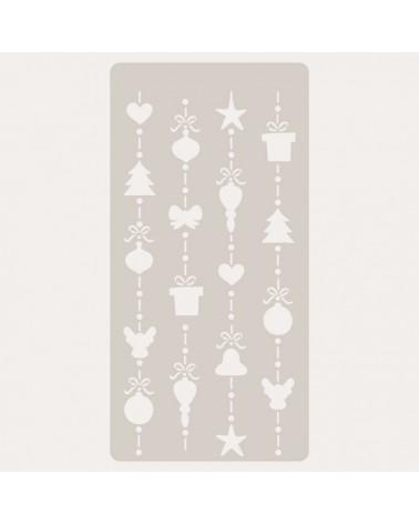 Stencil Scrapbooking 100 Navidad