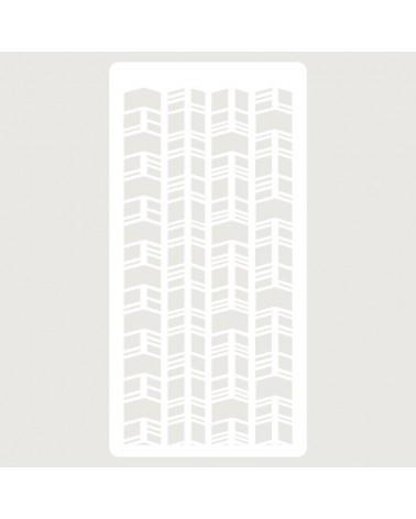 Stencil Scrapbooking 102 Zig Zag