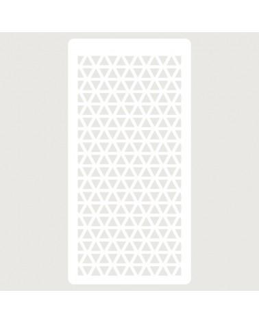 Stencil Scrapbooking 103 Triangulos