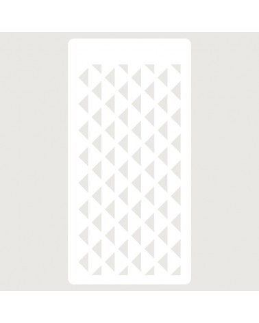 Stencil Scrapbooking 105 Triangulos