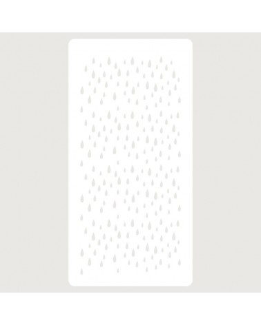 Stencil Scrapbooking 110 Lluvia