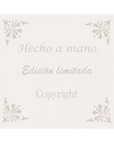 Stencil Texto 005 Hecho A Mano
