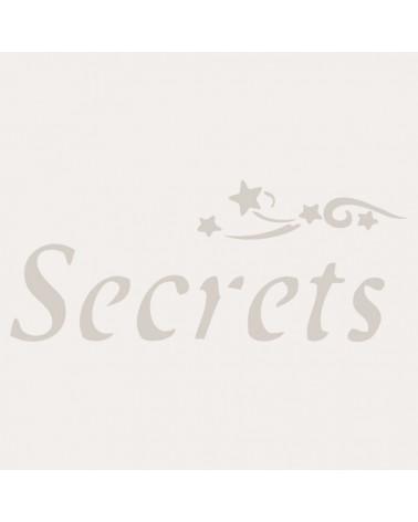 Stencil Texto 009 Secrets